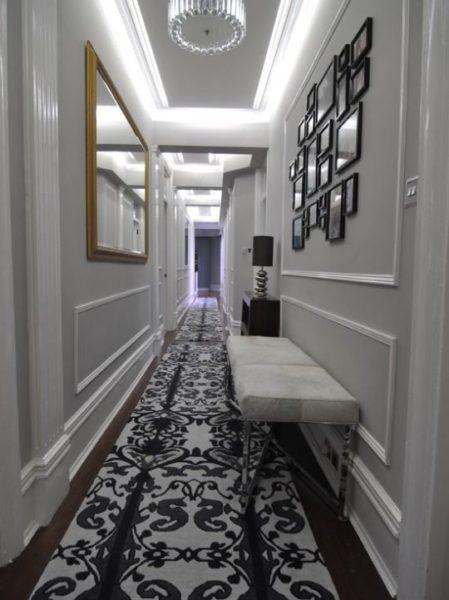 decoracion de pasillos estrechos