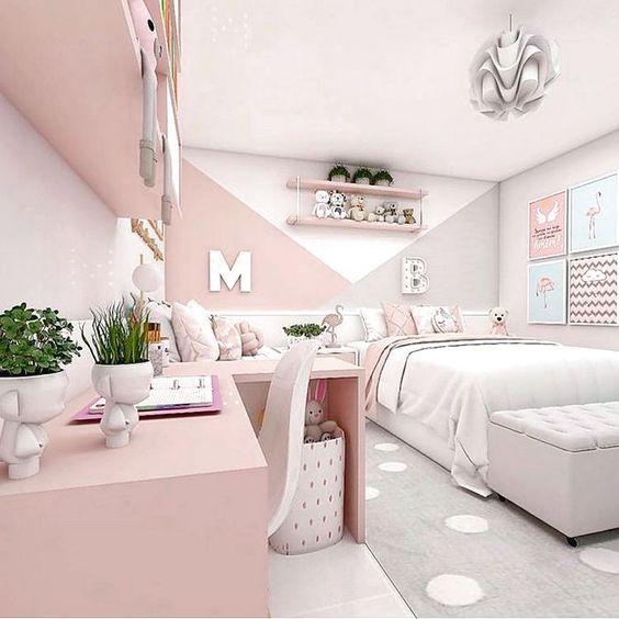 Habitacion para nenas elegante y moderna
