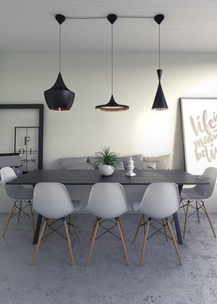 Mesa de comedor rectangular para 8 personas