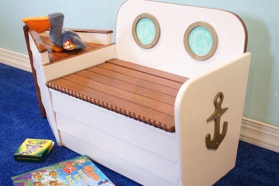 baul asiento para guardar juguete