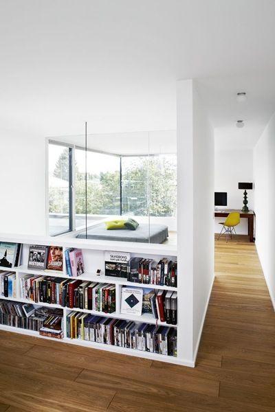 biblioteca baja para separar ambientes