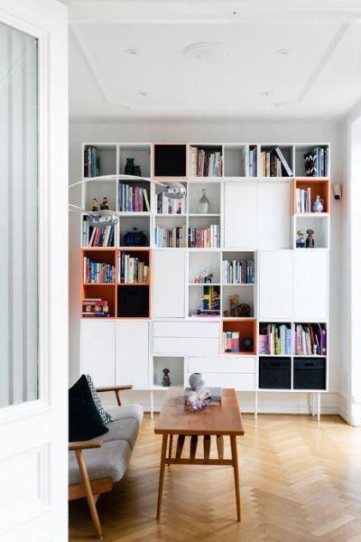biblioteca modular moderna