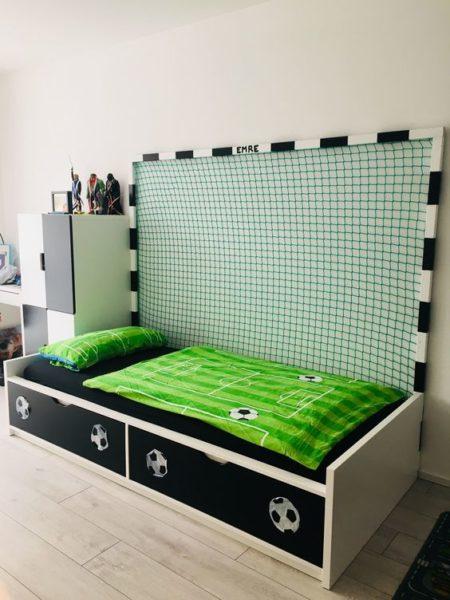 cama de futbol