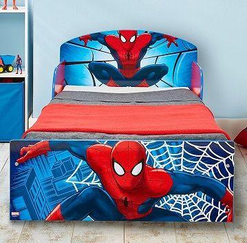 cama del hombre araña