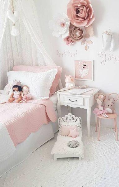 dormitorio para nenas elegante antiguo