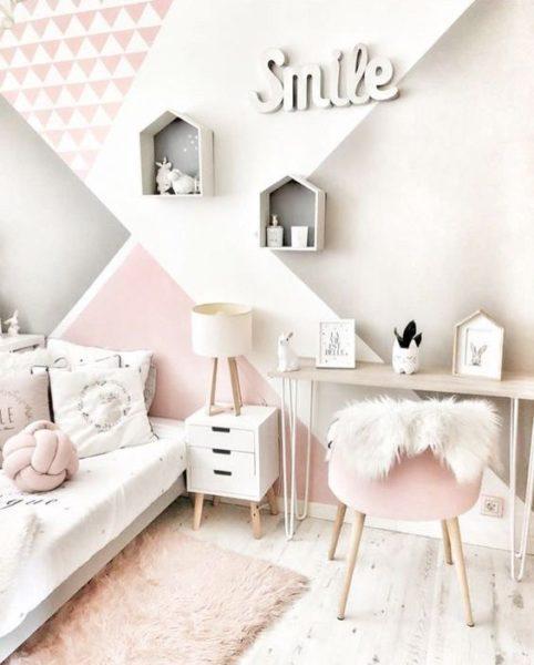 dormitorio para niñas modernas y elegantes