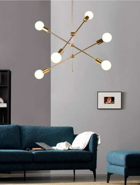 lampara colgante minimalista moderna par aliving