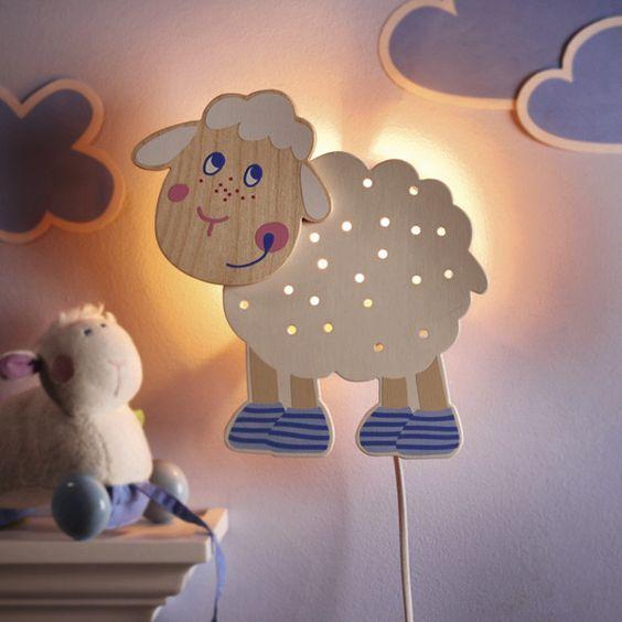 lamparas infantiles decoraticas luz suave y difusa
