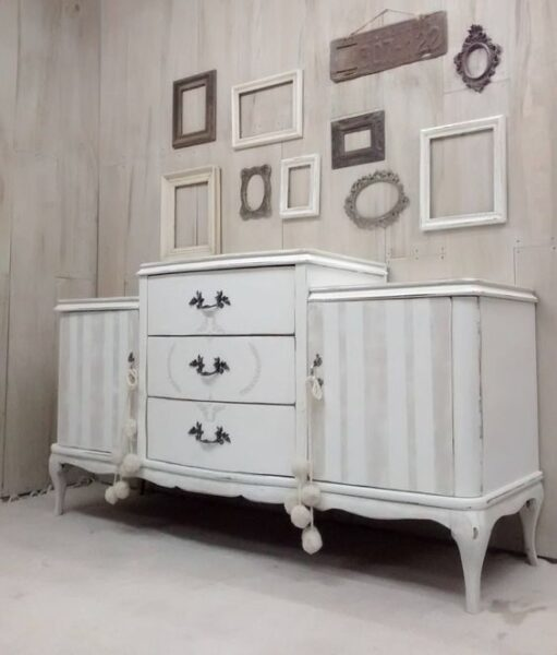 muebles antiguos pintados