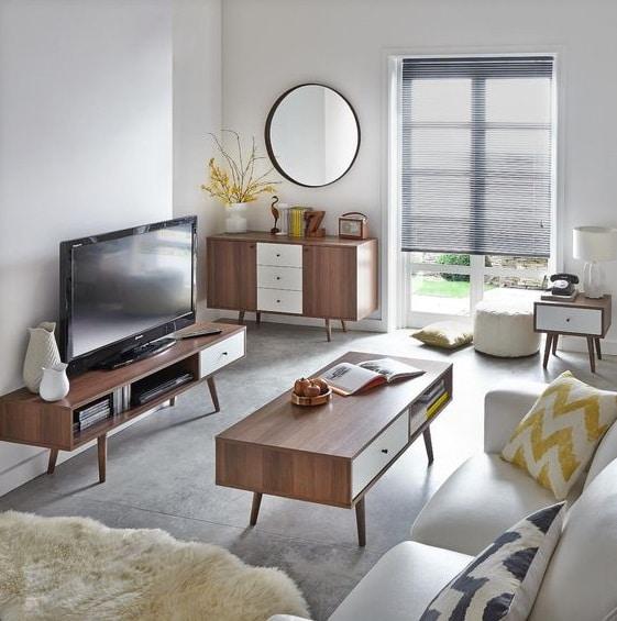muebles estilos retro en decoracion moderna
