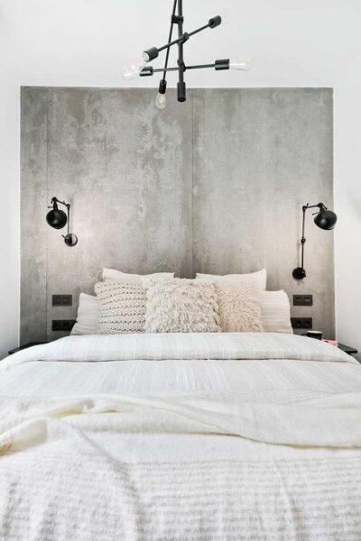 artefactos de iluminacion para dormitorios matrimonial moderno