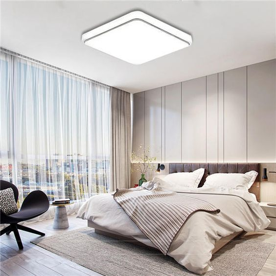 artefactos de techo para iluminar dormitorios