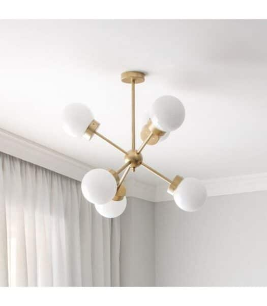 artefactos de techo para luz de dormitorio
