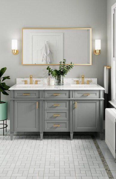 baño elegante estilo italiano moderno