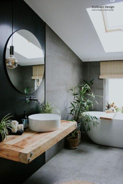 baño moderno estilo zen
