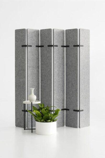 biombo moderno gris