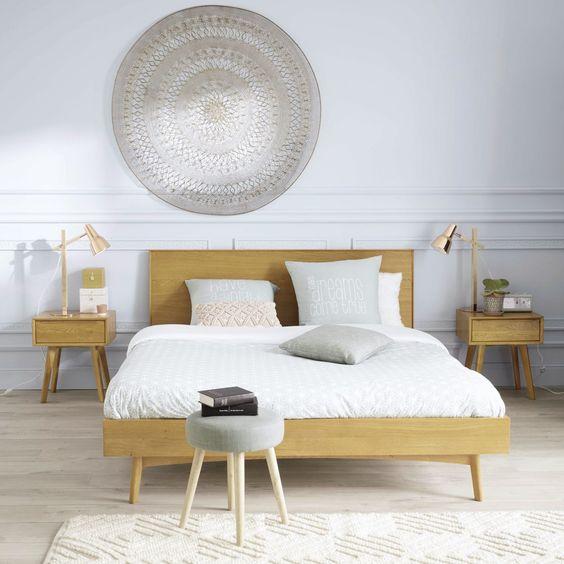 cama vintage moderna