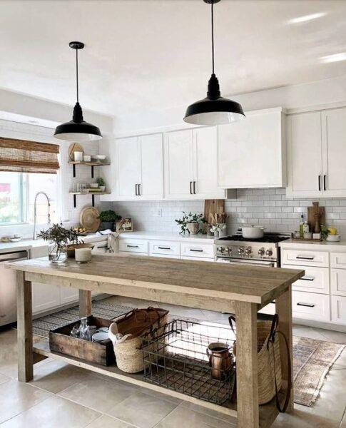cocina campestre moderna 1