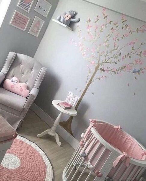 cuarto para bebe nena