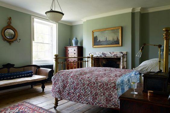 dormitorio estilo ingles