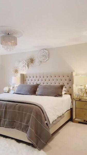 dormitorio estilo italiano moderno