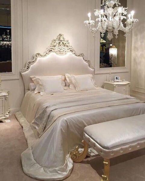 dormitorio estilo rococo