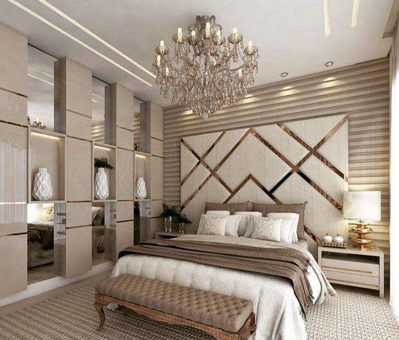 dormitorio moderno elegante italiano
