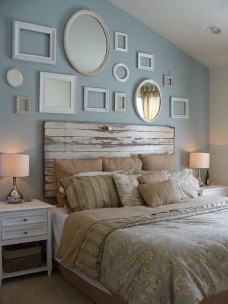 dormitorio moderno vintage