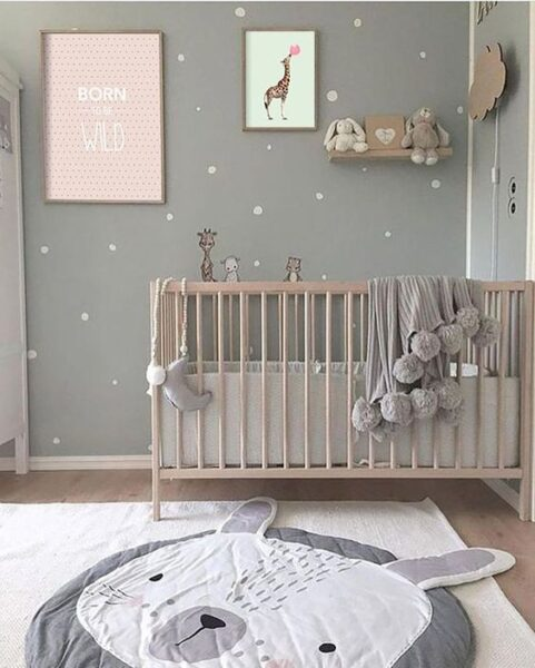 dormitorio para bebe nena