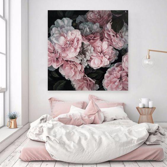 gigantografias de rosas para dormitorio juvenil