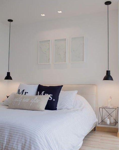 iluminacion dormitoro moderno minimalista