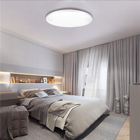 luz de techo para dormitorios modernos