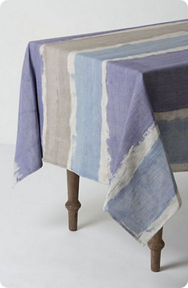 mantel de lino moderno tonos pasteles