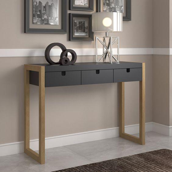 mesa recibidor moderna