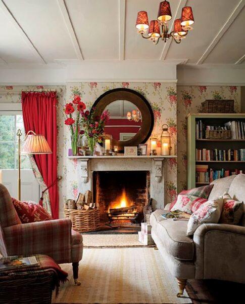 sala de estar estilo ingles