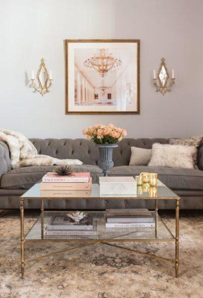 sala de estar estilo italiano moderno