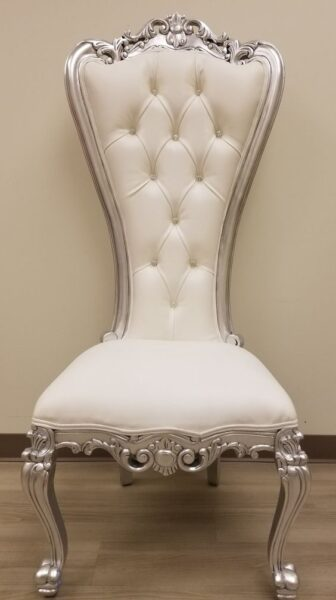 silla estilo rococo