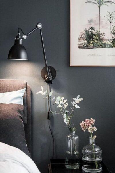 velador de pared para dormitorio