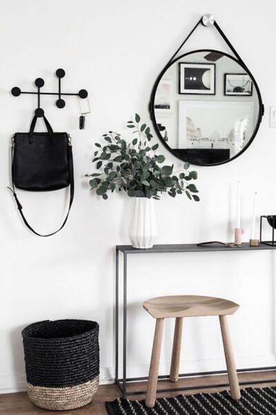 vestivulo minimalista nordico