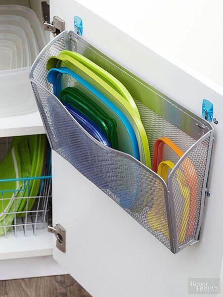 apliques de almacenamiento para puertas de cocinas