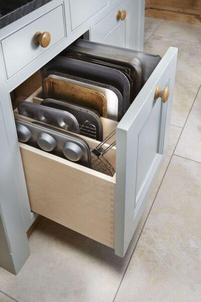 cajon cocina con separadores verticales