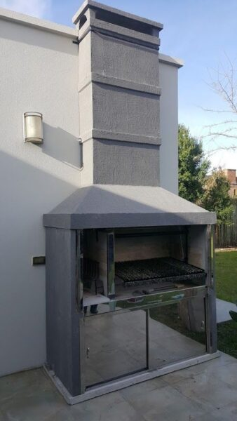 churrasqueras premoldeadas de cemento