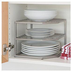 elevadores de estante para platos
