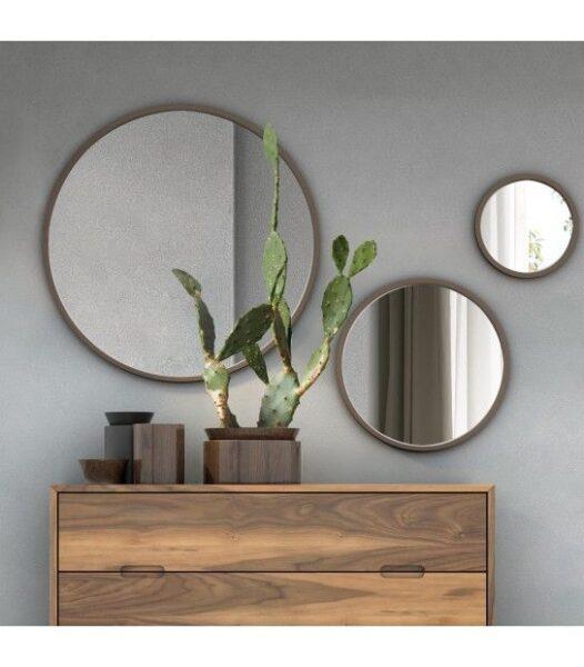 espejos redondos living comedor pequeños