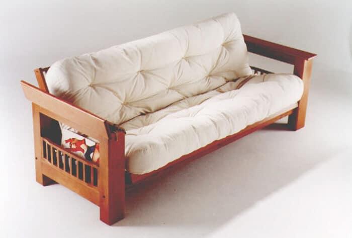 futon de madera