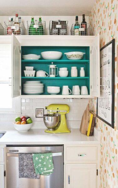 ideas para agregar espacios de cuardado en cocina