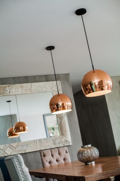 lamparas para living comedor pequeños
