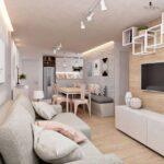 living comedor con muebles funcionales