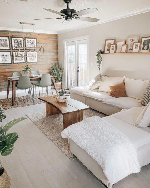 muebles simples living comedor pequeños