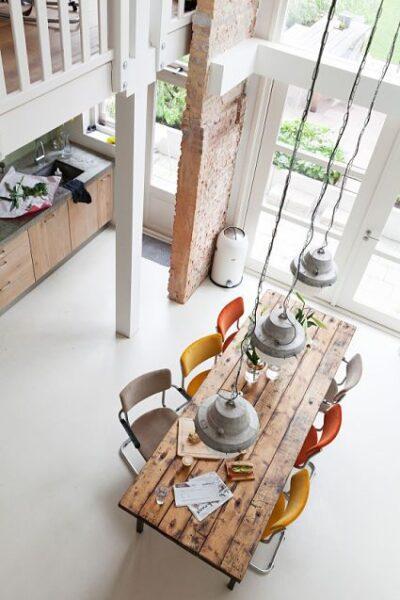 piso de cemento alisado blanco